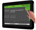 Innes SMT210 10'' Media Player und HTML5 Multimedia Touchscreen Der Media Player SMT210 besteht aus einem 10'' Bildschirm und einem HTML5 Renderer.