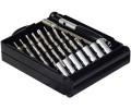 Präzisionsschraubendrehersatz, 11-teilig Set mit 10 austauschbaren Bits in Aufbewahrungsbox