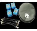 Kurth 4 Remote-Einheiten KE7010 für LAN Tester KE7200 Einzelne Remote-Einheit KE7010, ID frei programmierbar, incl. Schutztasche