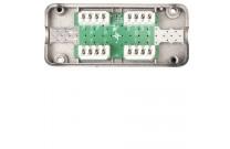 Telegärtner Verbindungsmodul VM 8-8 Cat.7A, geschirmt Für die Verbindung, Verlängerung, Reparatur oder Umverlegung von Kupfer-Datenkabeln bis Cat.7A