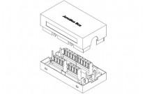 Verbindungsmodul, Cat.6, STP Zum Verbinden oder Reparieren von Installationskabeln